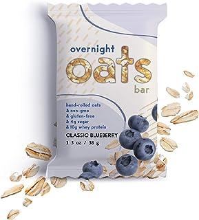 Overnight Oats Bar Classic Blueberry, 11.7 Ounces, 9 ct