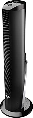 "Vornado OSCR32 32"" Oscillating Air Circulator Tower Fan with Remote Control, Timer, Black"