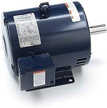 Marathon,3,0.75 HP 2 Speed Definite Purpose AC Motor, 3 Phase, 1800/900 RPM, 200-230 V, 182T Frame, ODP