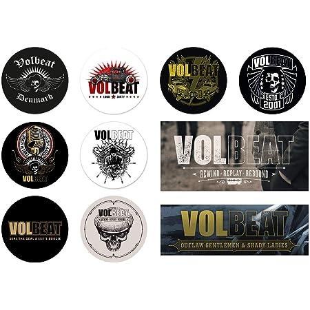 Volbeat Skull Autoaufkleber Sticker Aufkleber Wasserfest Auto