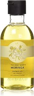 The Body Shop Shower Gel, Moringa, 8.4 Fl Oz (Pack of 1)