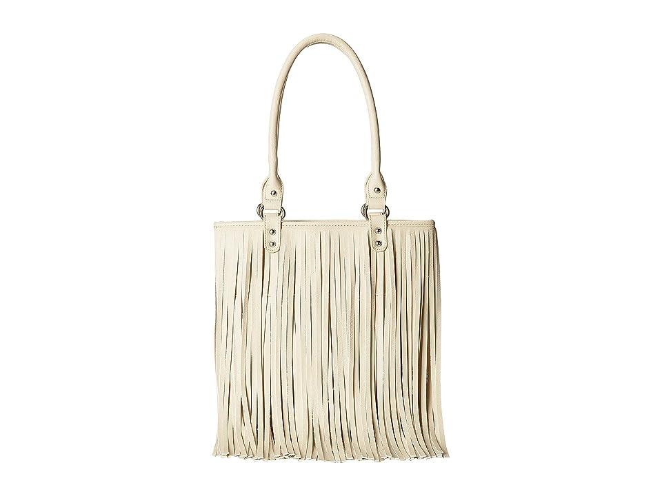 M&F Western Fringe Shoulder Bag (Ivory) Shoulder Bag