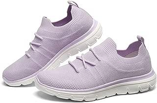 GM GOLAIMAN Women's Knit Walking Shoes Mesh Sneakers