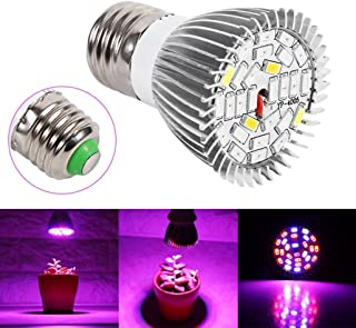 28 LED 28W E27 Grow Light Lamp Veg Flower Indoor Hydroponic Plant Full Spectrum ,Tuscom (#1)
