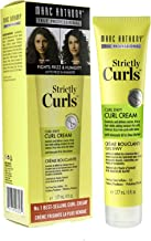 Marc Anthony Strictly Curls Curl Envy Perfect Curl Cream, 6 Ounce Tube, Curl Styling Cream, Fights Frizz and Humidity