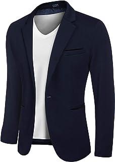 COOFANDY Men's Casual Blazer Sports Coats Slim Fit Business Suit Jackets One Button