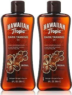 Hawaiian Tropic Dark Tanning Oil-8 oz, 2 pack