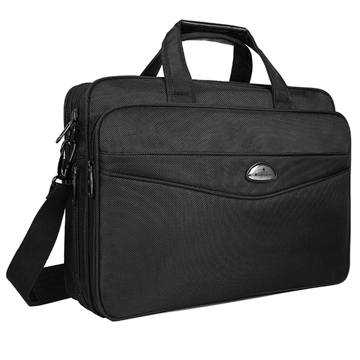 Briefcase 15.6 Inch Laptop Bag Laptop Messenger Bag, Business Office Bag for Men Women Multifunctional Computer Bags Shoulder Bags Fit for 15