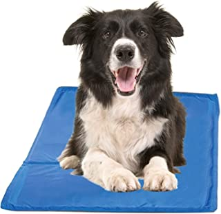 Cooling Mat for Dogs - Pressure Activated Gel Dog Cooling Mat - No Need to Freeze Or Refrigerate This Cool Pet Pad - Keep ...