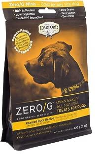 Darford - Zero/G Roasted Duck Recipe Minis Dog Treats, 6Oz Pouch