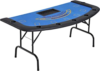 Best blue poker table top Reviews