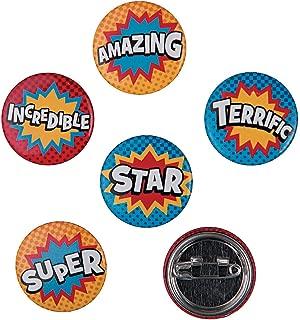 Fun Express 96 Count Superhero Mini Buttons