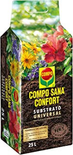 comprar comparacion Compo Sana Confort Universal Substrato de calidad para macetas con 12 semanas de abono para plantas de interior, terraza y...