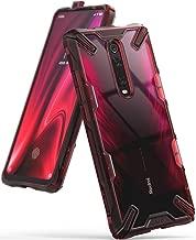 Ringke Fusion-X Diseñado para Funda Xiaomi Mi 9T, Mi 9T Pro, Redmi K20, Redmi K20 Pro Protección Resistente Impactos Carcasa Xiaomi Mi 9T, Funda para Xiaomi Mi 9T Pro (2019) - Ruby Red