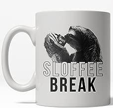 Sloffee Break Mug Funny Sloth Zoo Animal Coffee Cup - 11oz