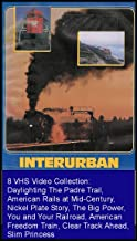 Interurban 8 VHS Video Railroad Films Collection: Daylighting The Padre Trail, American Rails at Mid-Century, Nickel Plate Story, The Big Power, You and Your Railroad, American Freedom Train, Clear Track Ahead, Slim Princess [8 VHS Videos]