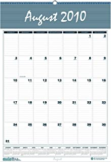 House of Doolittle 353 Bar Harbor Wirebound Academic Monthly Wall Calendar, 15-1/2 x 22, 2015-2016
