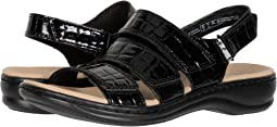 Black Patent Croc Synthetic