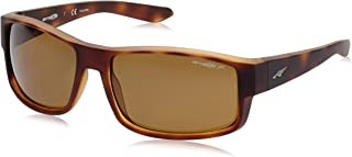 Arnette Men's AN4224 Boxcar Rectangular Sunglasses