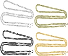 Ogquaton Durable Metallschnallen Kette Handtasche Ketten Ersatzgurte f/ür Tasche Umh/ängetasche Geldb/örse Verwenden 1 ST/ÜCKE Silber