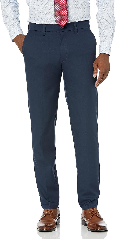 Haggar Men's Cool Save money 18 Pro Slim Pant Flex Fit Flat Premium Front Outstanding