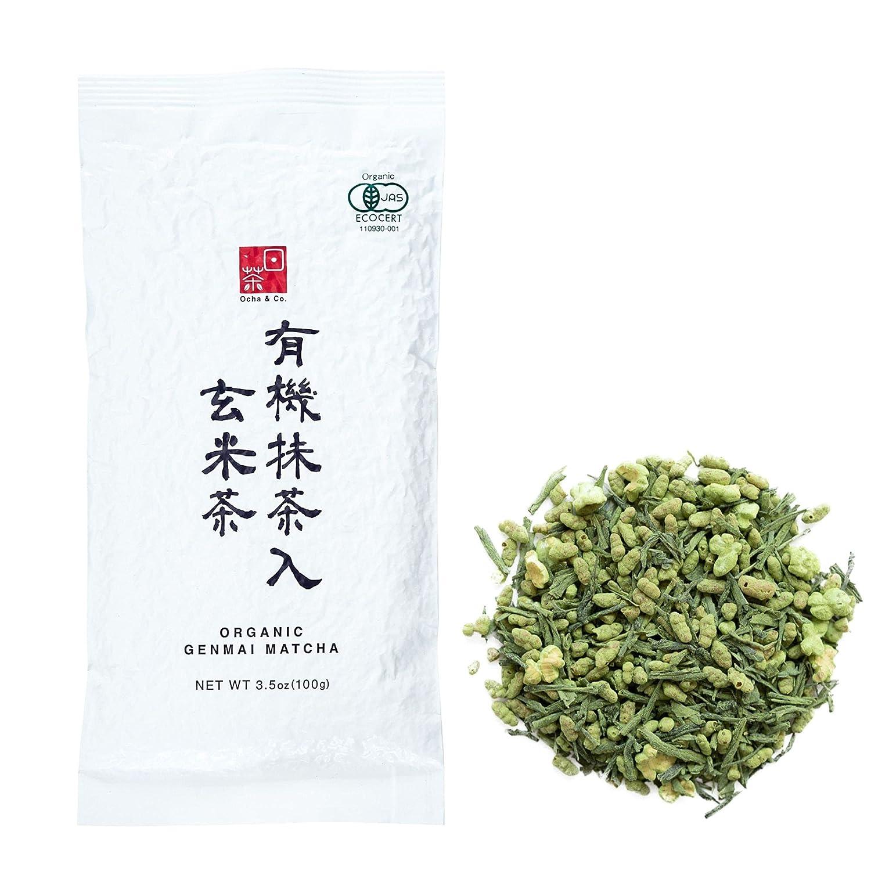 Ocha Co. Organic Green Tea Max 78% OFF - Genmaicha Japanese Leaf Direct sale of manufacturer Loose