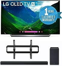 LG OLED77C8PUA 77-Inch 4K Ultra HD Smart OLED TV (2018 Model) BUNDLE WITH SANUS VLT5-B1 51