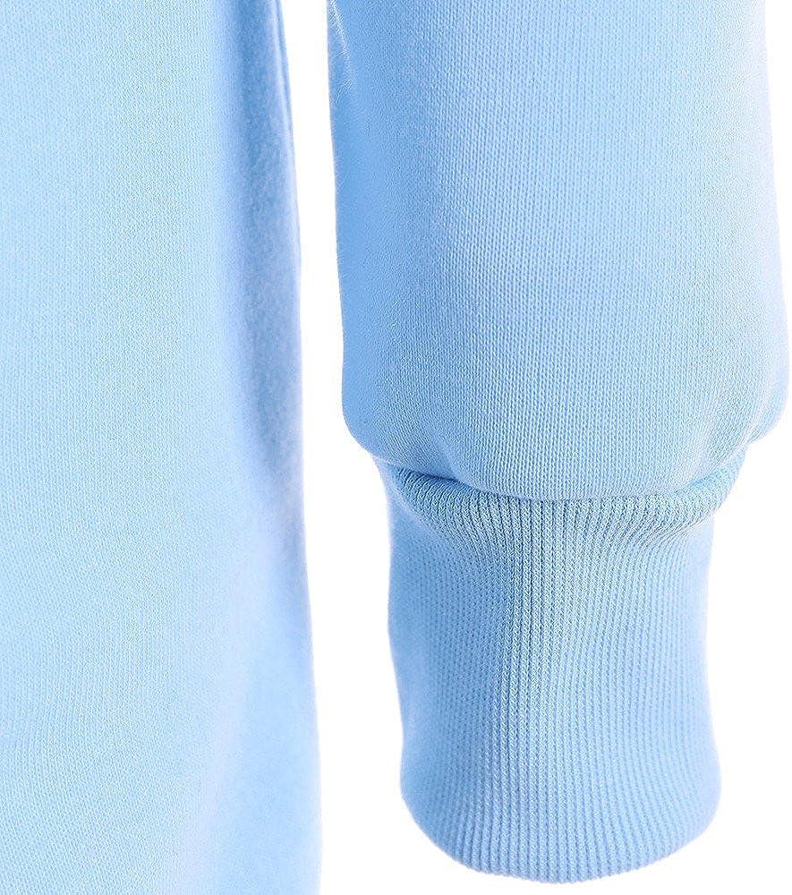 VECDY Damen Pullover,Räumungsverkauf- Herbst Frauen Langarm Hoodie Sweatshirt Pullover mit Kapuze Baumwollmantel Pullover Lässige hohe Kragen warmen Pullover Hoodie T-blau