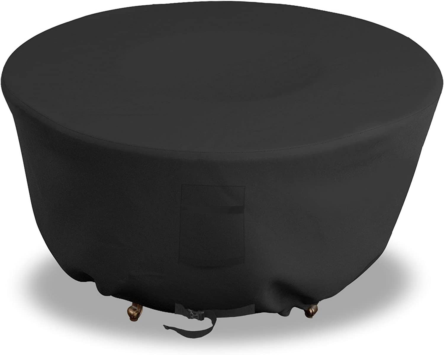 Firepit Covers Round 18 Oz Waterproof F 2021 model - Max 50% OFF Weather Resistant 100%