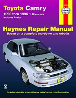 Best 1996 toyota camry repair manual Reviews