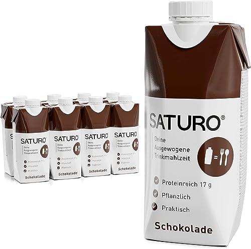 Substitut de Repas Complet Diététique Prêt à Consommer Riche en Protéines, Vitamines et Minéraux – Milk-Shake/ Smooth...