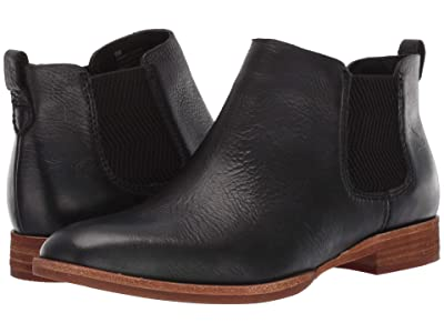 Kork-Ease Kama (Black Full Grain Leather) Women