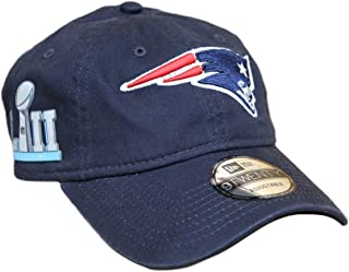 b05a35c785e6a9 New Era New England Patriots 9Twenty NFL Super Bowl LII Patch Adjustable Hat