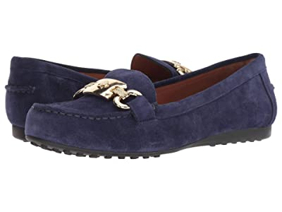 Kate Spade New York Carson (Marine Blue Suede) Women