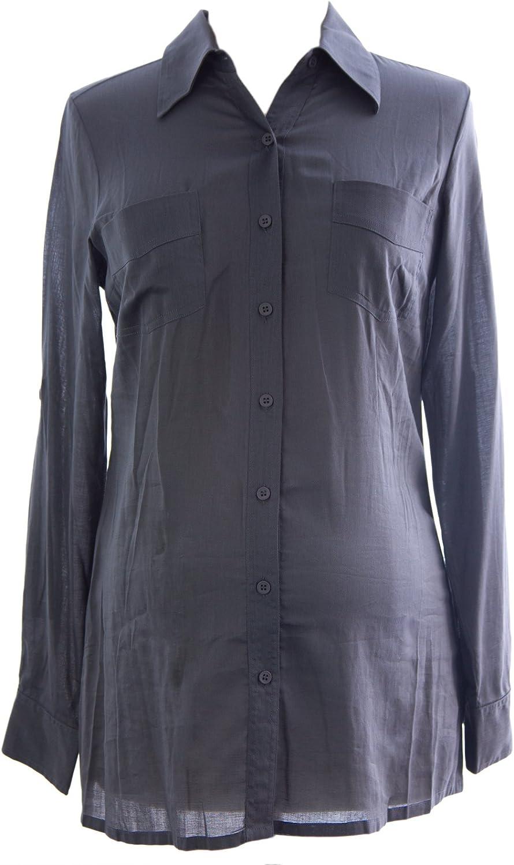 Olian Maternity Women's Great interest Button Down Blouse Cotton Sz X-Small Smo Overseas parallel import regular item