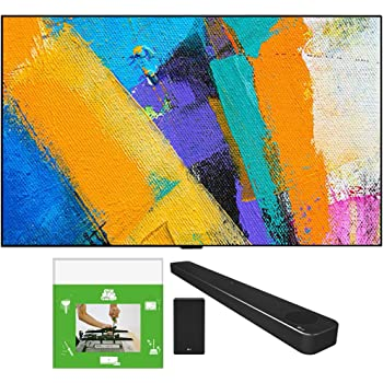 LG OLED65GXPUA 65-inch GX 4K Smart OLED TV with AI ThinQ (2020 Model) Bundle SN8YG 3.1.2 ch High Res Audio Soundbar with Dolby Atmos and Google Assistant + TaskRabbit Installation Services