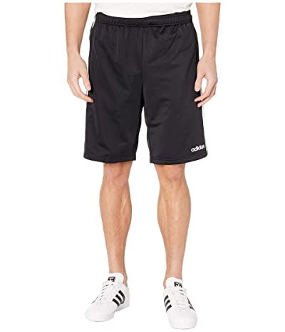 adidas Essentials Tricot 3-Stripes Shorts (Black/White) Men