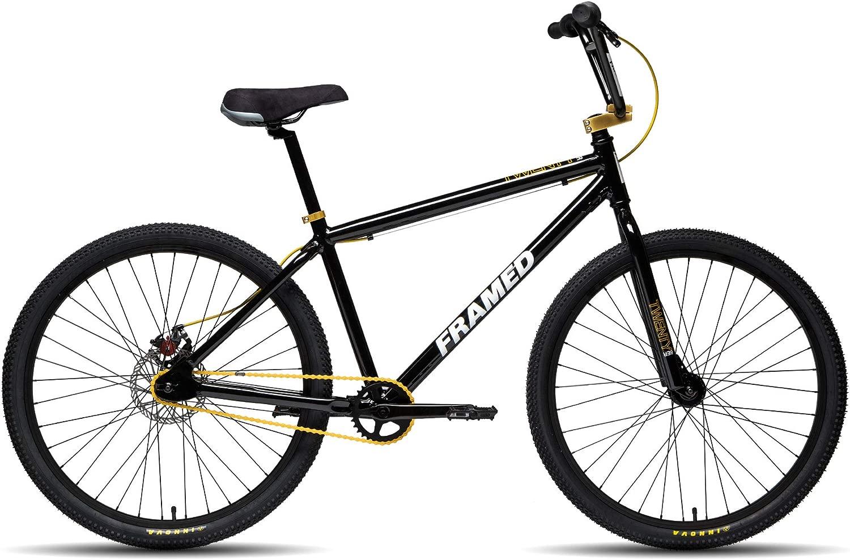 フレーム入りTwenty6er BMXバイク。