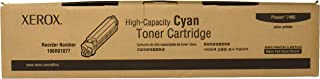 Genuine Xerox Cyan High Capacity Toner Cartridge for the Phaser 7400, 106R01077
