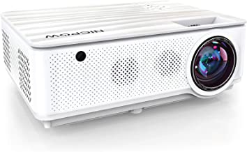 $239 » Native 1080P Projector,NICPOW 7200L Full HD Video Projector,±40° 4D Keystone Correction,Outdoor Movie Projector with Max 3...