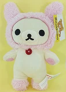 San-X Rilakkuma Mascot Series - Korilakkuma Rabbit Pink Hat 10