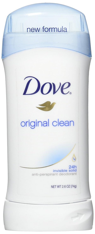ブリーフケース仲人かんたんDove Anti-Perspirant/Deodorant Invisible Solid Original Clean 73g (並行輸入品)