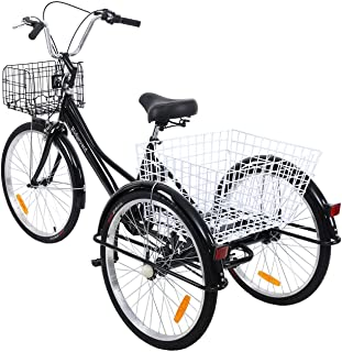"Yonntech Ambienceo Triciclo para Adultos 24"" 7"