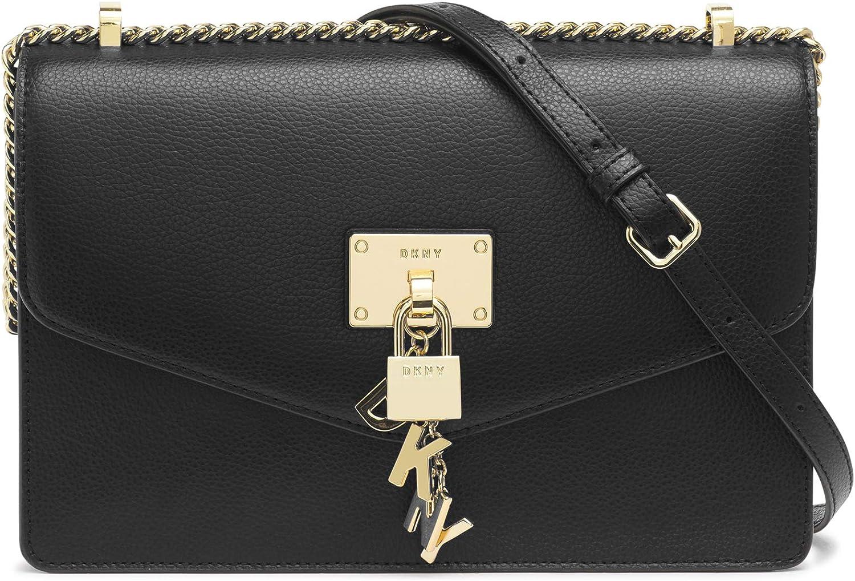 DKNY Damen Elissa Lg Shoulder Bag Umhängetasche, Einheitsgröße