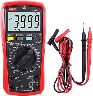 Multimeter UNI T UT890D+ Effektivwert Voltmeter Amperemeter Ohmmeter AC/DC Zählerstrom Spannungswiderstand Frequenz Durchgangskapazitätsdiode (Unterscheiden zwischen Nulllinie und Feuerlinie)