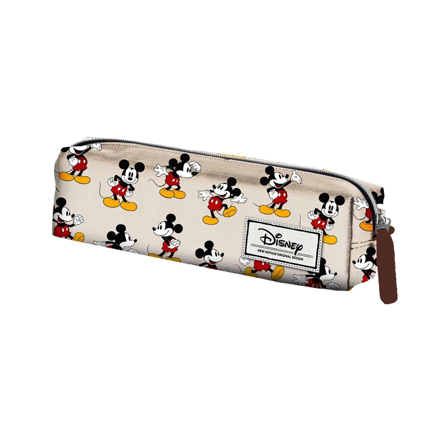 Mickey Mouse Estuche portatodo Cuadrado, Color Beige, 22 cm (Karactermanía 33609), disney classic topolino, poliéster: Amazon.es: Juguetes y juegos
