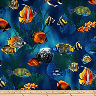 Best fish print fabric by the yard Reviews