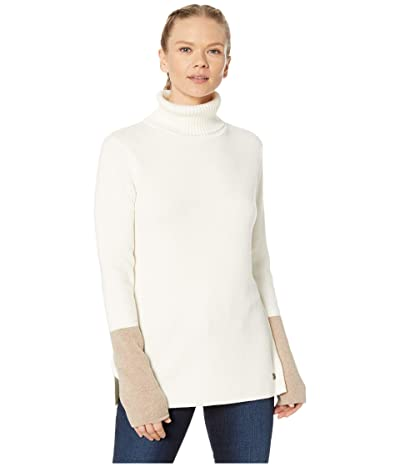 Royal Robbins All Season Merino Turtleneck (Creme) Women