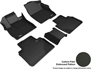 3D MAXpider L1HD09801509 Complete Set Custom Fit All-Weather Floor Mat for Select Honda Accord Models-Kagu Rubber (Black)