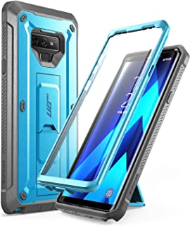 SUPCASE Unicorn Beetle Pro Series Design for Samsung Galaxy Note 9 Case, with Built-in Screen Protector & Kickstand Full-Body Rugged Holster Case for Galaxy Note 9 (2018 Release) (Blue)